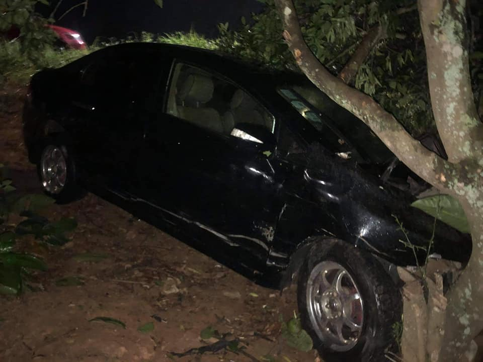 Another Near-Fatal Accident on Akyem Tafo New Road
